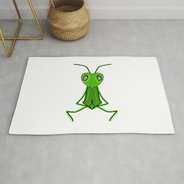 Praying Mantis Rug