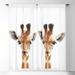 Baby Giraffe Art Blackout Curtain