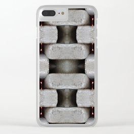 WALLS Dont Stop WARS Clear iPhone Case