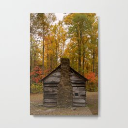 Old Homestead in Great Smoky Mountains Metal Print