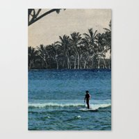 aloha Canvas Prints featuring Aloha by cause defect