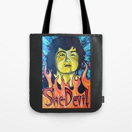 Roseanne Barr, She-Devil Tote Bag