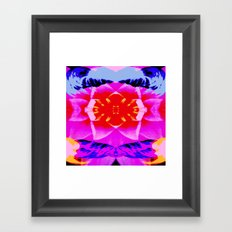 Ramble on Rose Framed Art Print