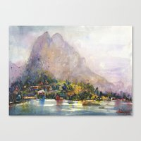 norway Canvas Prints featuring Norway by KristinaVardazaryan