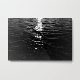 Shimmering Water Metal Print