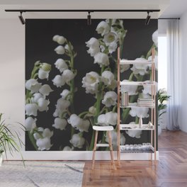 lily of the valley 5 Wall Mural