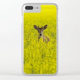 Buck in Canola Clear iPhone Case