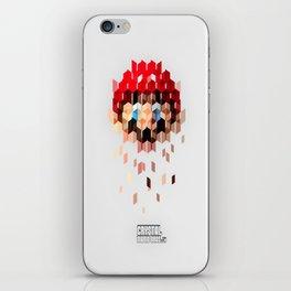 Crystal Mario iPhone Skin