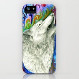 The colors of the Wolf iPhone Case