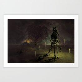 Disease Is Born Art Print
