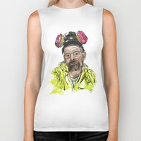 walter white Biker Tanks featuring Walter White  by Madows