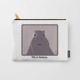 Professor Capybara III Carry-All Pouch