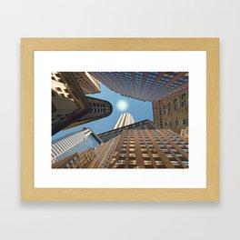 At its Zenith - New York Framed Art Print