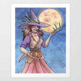 Scarecrow Queen Art Print