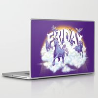 friday Laptop & iPad Skins featuring Friday! by littleclyde