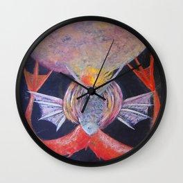 M Soles Wall Clock