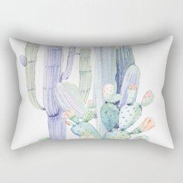 Mixed Cacti 2 #society6 #buyart Rectangular Pillow