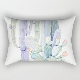 Mixed Cacti 2 #society6 #buyart Rectangular Pillow