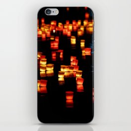 Floating Laterns iPhone Skin