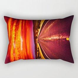 Desert Sunrise, Big Bend, Texas Rectangular Pillow