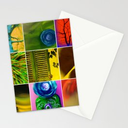 BOTANICAL COLLAGE Stationery Cards