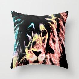 Leo Lion : Subtle Pastels Throw Pillow