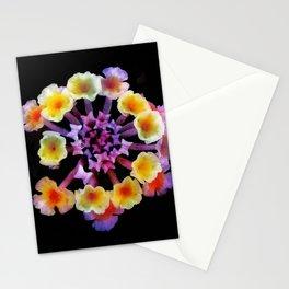 Camara flower - natural mandala Stationery Cards