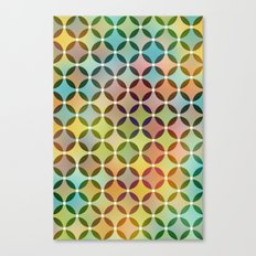 Dots in Dots Canvas Print