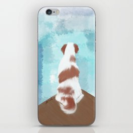 Deschutes The Brittany Spaniel iPhone Skin
