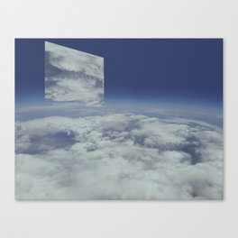 Mirrors relections Canvas Print