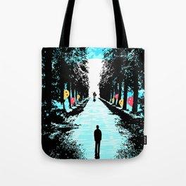 Lonely Walk Tote Bag