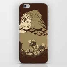 Woodland wars iPhone & iPod Skin