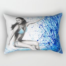 Thoughts and Waves Rectangular Pillow