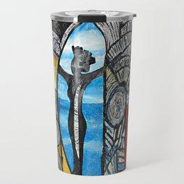 Seaside Beauty Queen Travel Mug