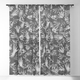Appetite Of The Living Dead Sheer Curtain