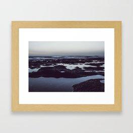 Quietness sea Framed Art Print