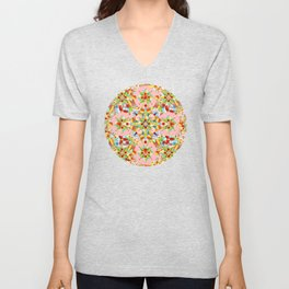 Arabesque Carousel Unisex V-Neck
