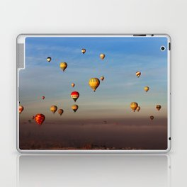 Fairytale dreams of hot air balloons Laptop & iPad Skin