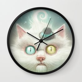 Release the Odd Kitty!!! Wall Clock