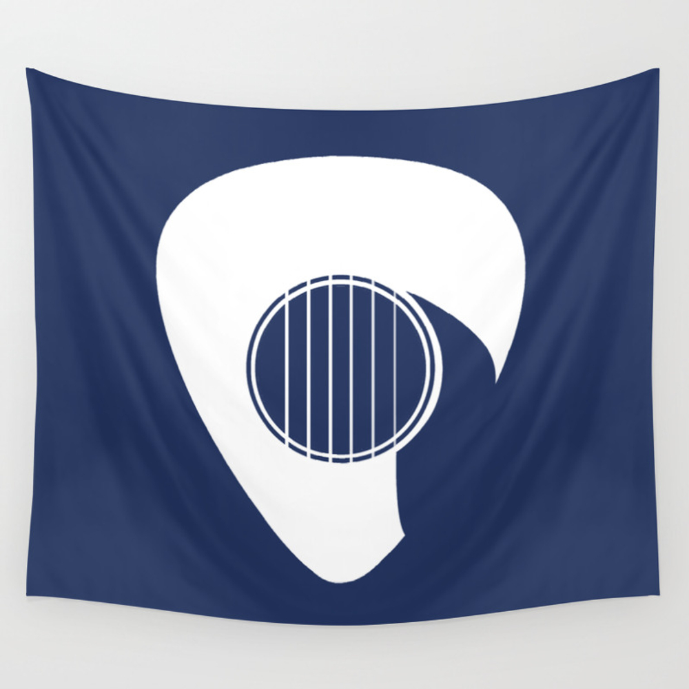 Guitar Pick Wall Tapestry by 1mind TPS7201756