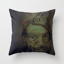 Happy Fucking Birthday Throw Pillow