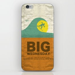 Big Wednesday iPhone Skin