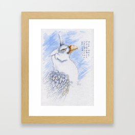 Nafarie: Guardian of Earth & Sky Colour Framed Art Print