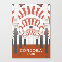 Córdoba Art Print Canvas Print