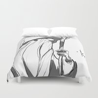 gandalf Duvet Covers featuring Gandalf by 4nima