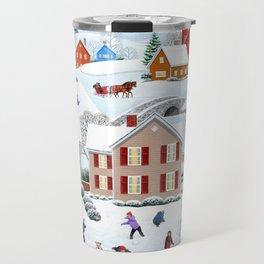 Once Upon a Winter Travel Mug