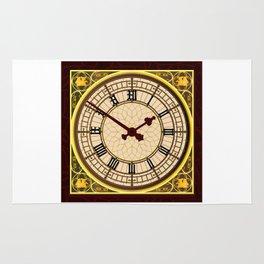 Big Ben at Clock Face Rug