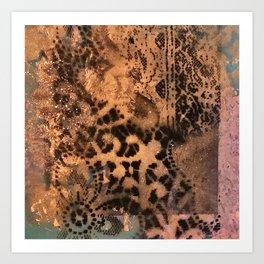 Copper Memories  Art Print