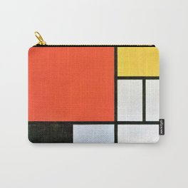 12,000pixel-500dpi - Composition With Red, Yellow, Blue, And Black - Piet Mondrian Carry-All Pouch