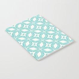 Starburst - Aqua Notebook